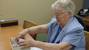 At 91, Sister Ruth keeps praying, serving