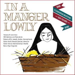 In a Manger Lowly CD cover