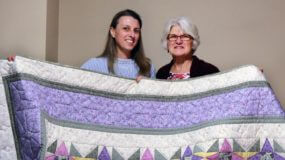 Quilting to support the Sisters