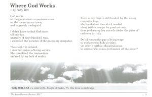 Poem by Sister Sally Witt