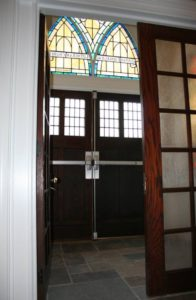 Interior and exterior doors of Tarenbee