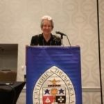 Sister Anne Clifford received College Theology Society award