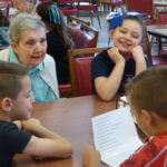 Second graders interview Sisters