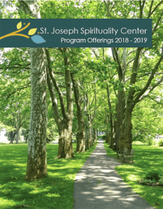 St. Joseph Spirituality Center, Program Offerings 2018-2019