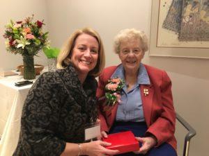 Sister Nancy Hupert retires from her position as Vice President of Jefferson Hospital.